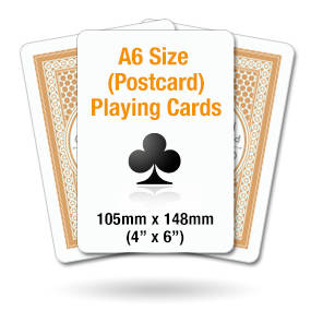 A6 Playing Cards