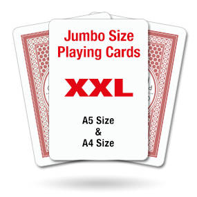 Jumbo Higher or Lower Cards